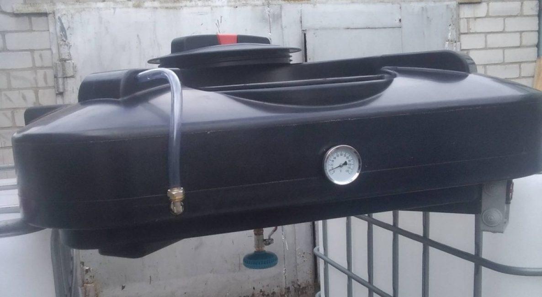 Бак с подогревом обеспечит семью теплой водой в прохладную погоду