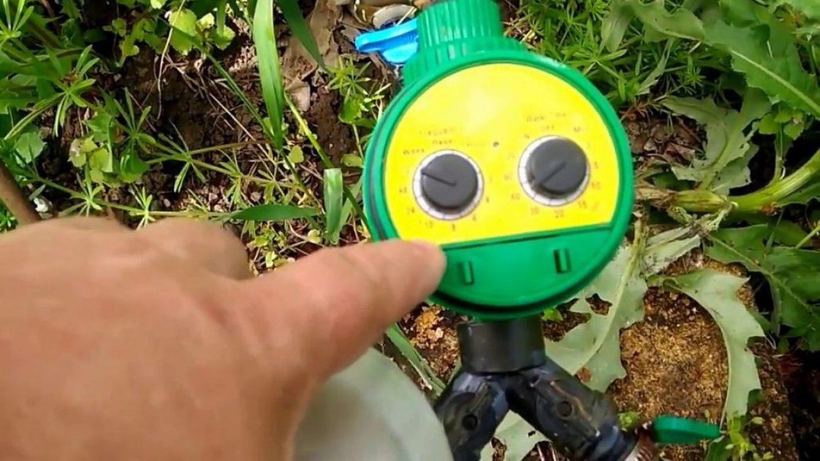 Автоматический таймер капельного полива