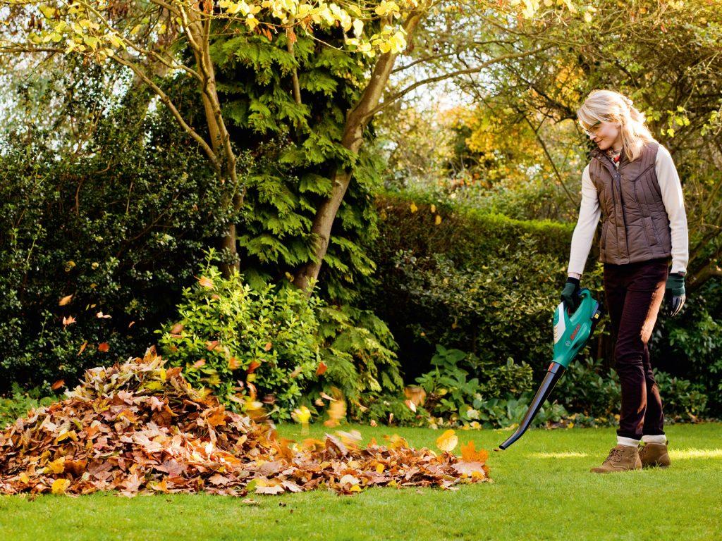 воздуходувки и садовые пылесосы