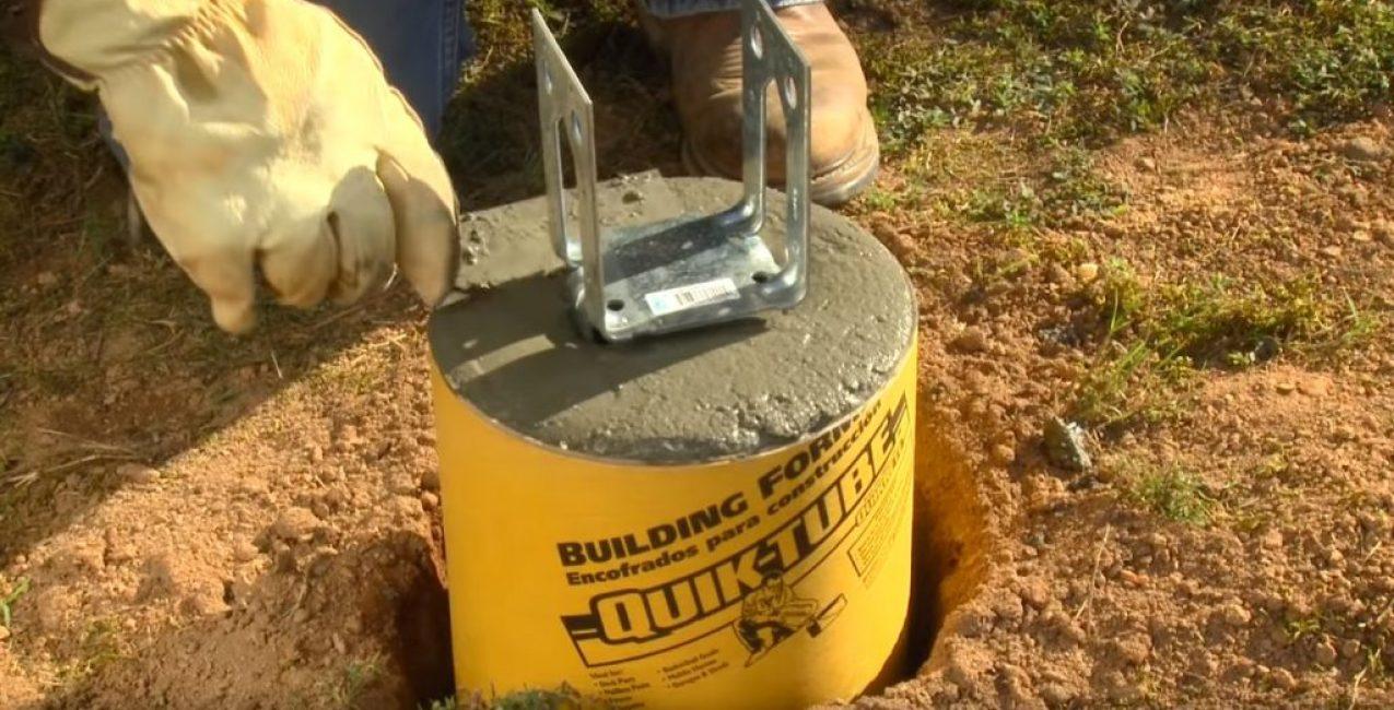После установки поверхность бетона дополнительно выравнивается мастерком