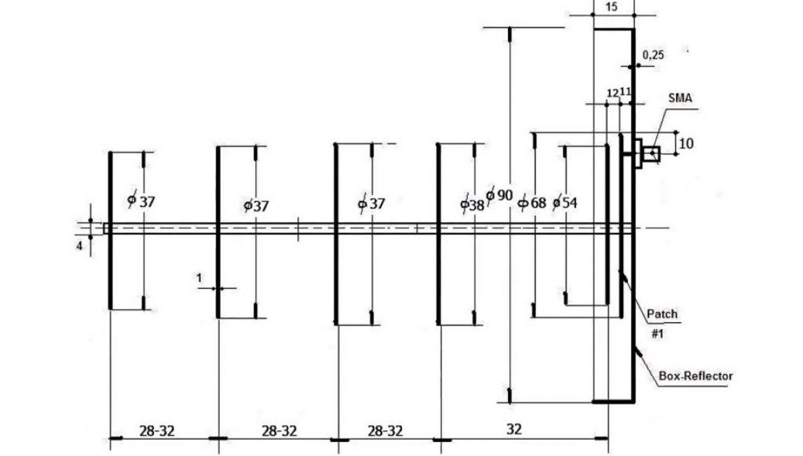 Схема wi-fi пушки