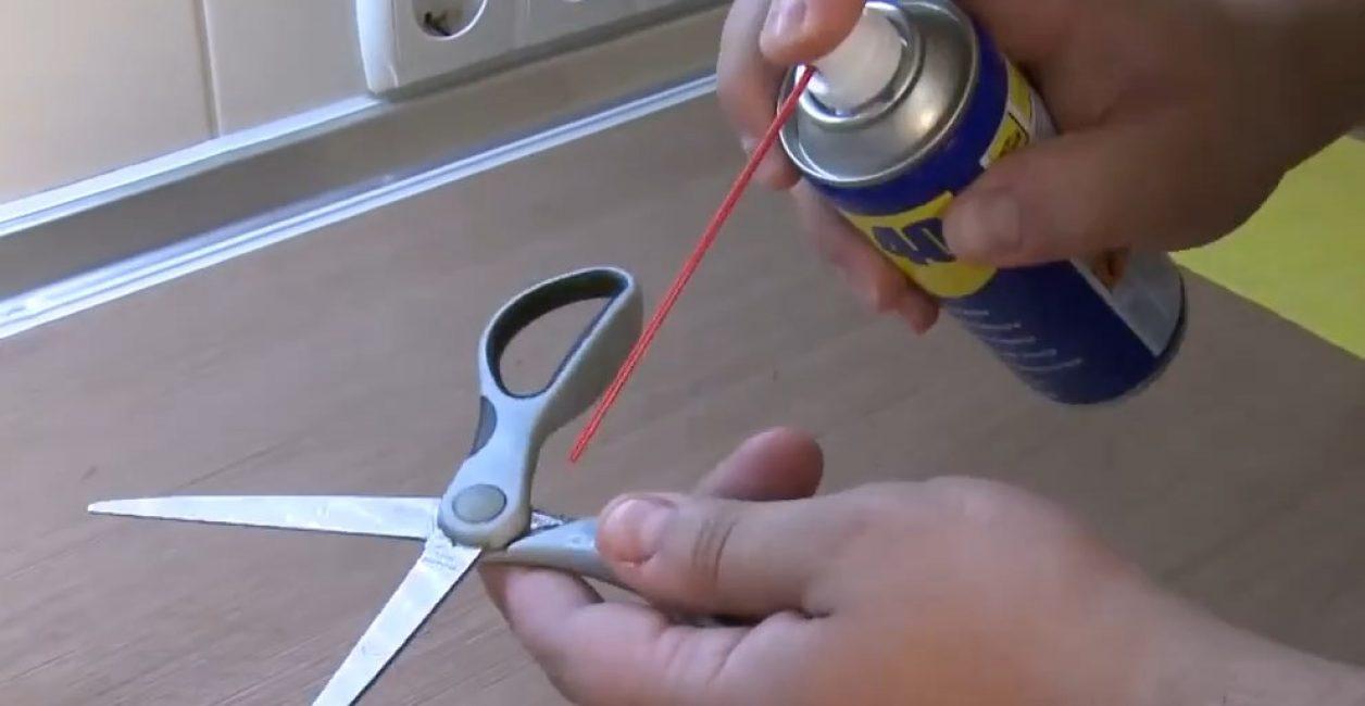 Ножницы после обработки стригут значительно лучше