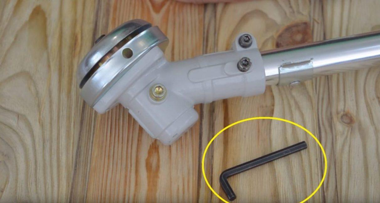 Шестигранный ключ для открытия отверстия смазки редуктора