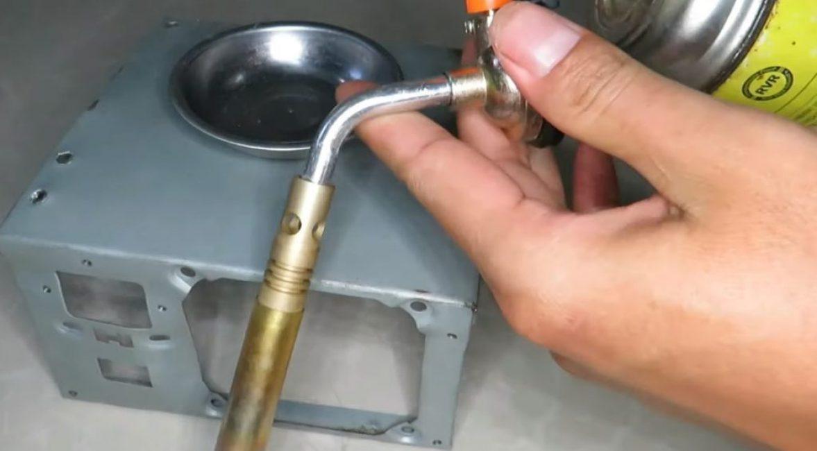 Газовая горелка на пропане