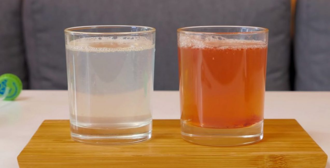 Лимонад и фруктовый напиток из варенья