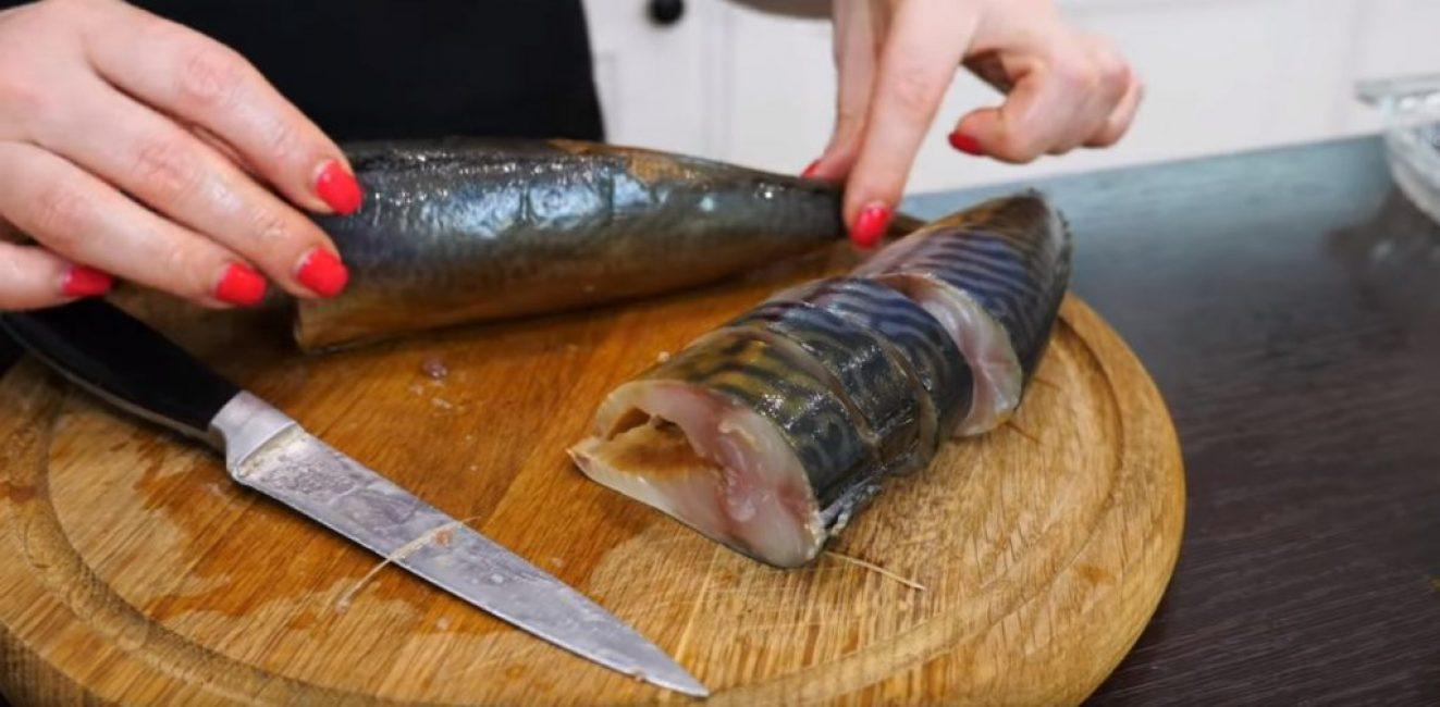 Размер стейков при разрезании составляет от 2 до 4 см