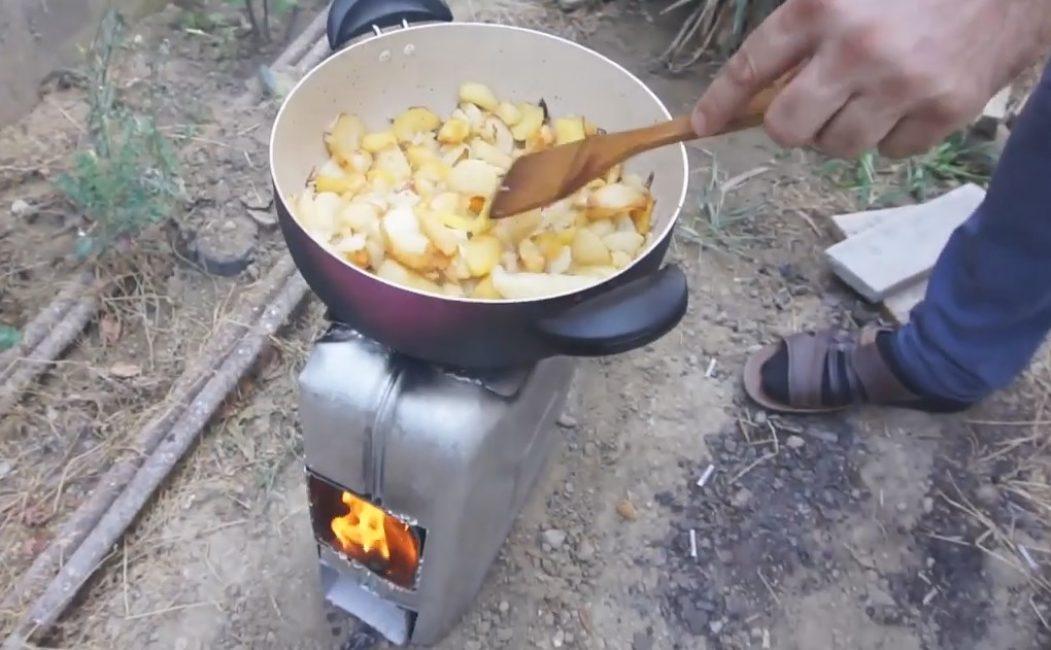 Достаточно для приготовления пищи