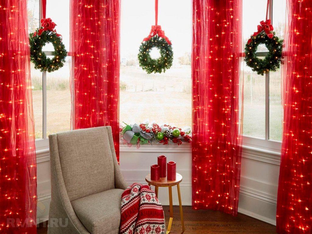 Украшаем квартиру к новому году в картинках пошагово