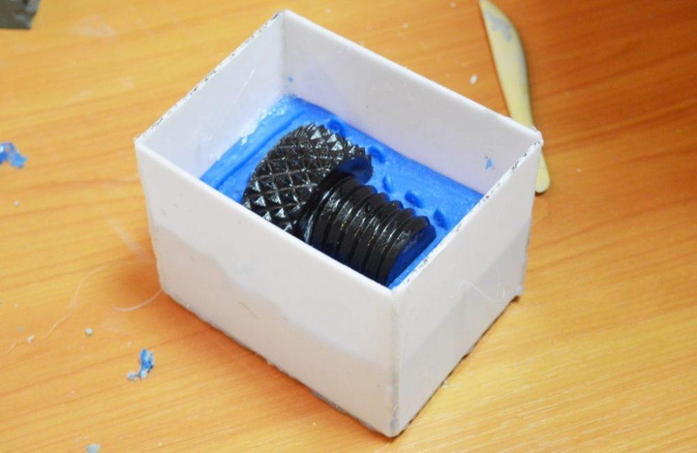 Литье пластмасс в силикон