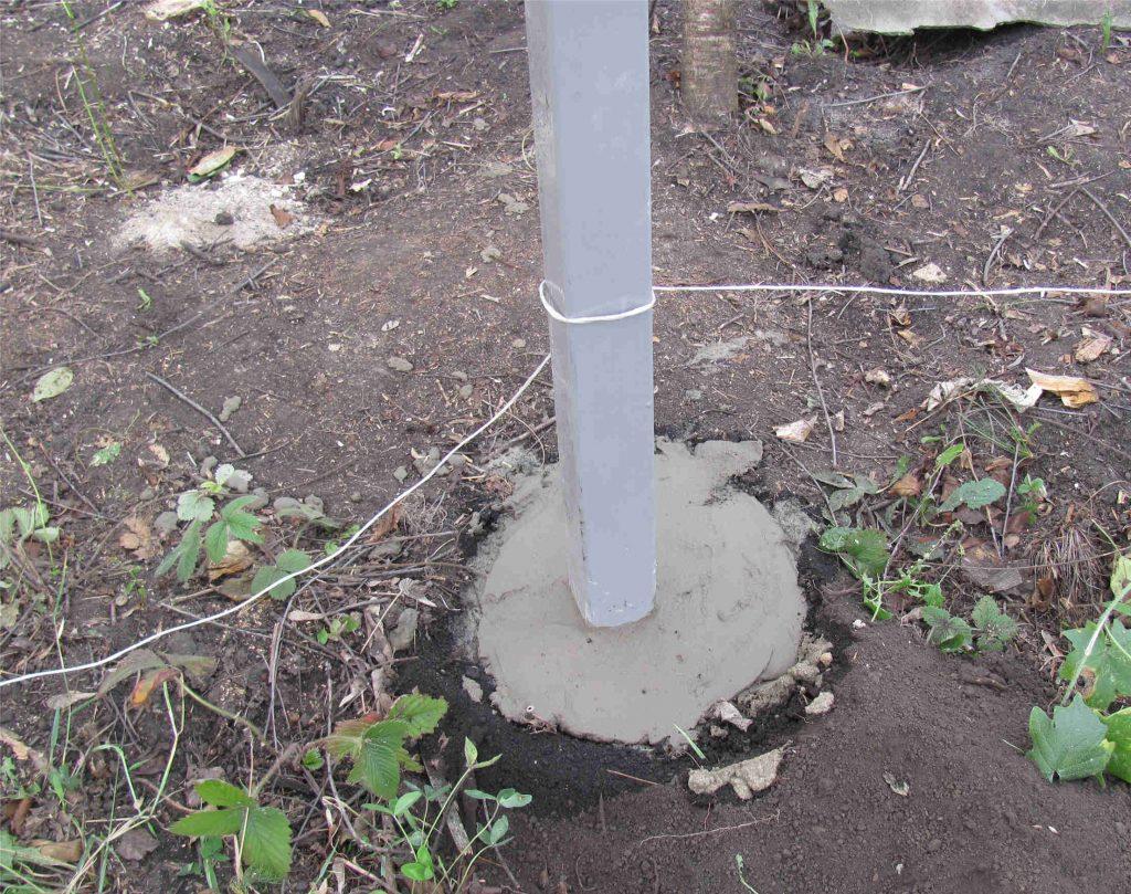 Бетон внутрь столба укладка бетонной смеси в зимнее время