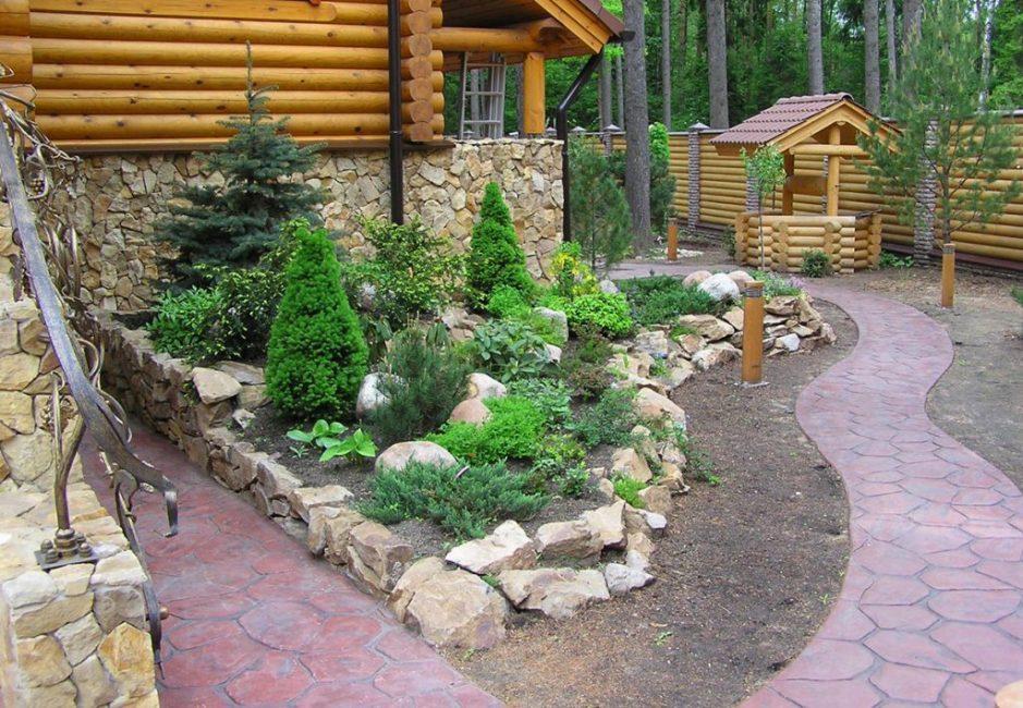 Каменный садик