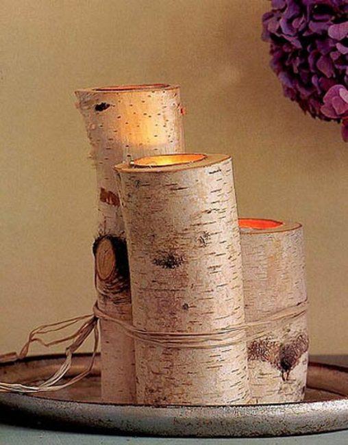 Береза, немного плотницких работ, получаем очаровательные деревянные основы
