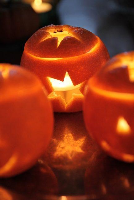 Цитрус создает яркое освещение и добавляет потрясающий аромат в комнате