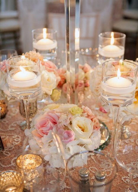 Свадебное освещение предполагает больше изысканности, нежности