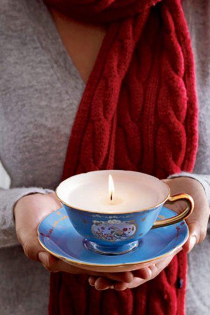 Фарфоровые чашки помогут создать элегантные основы