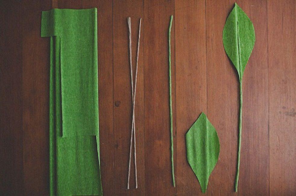 Иготовление листвы