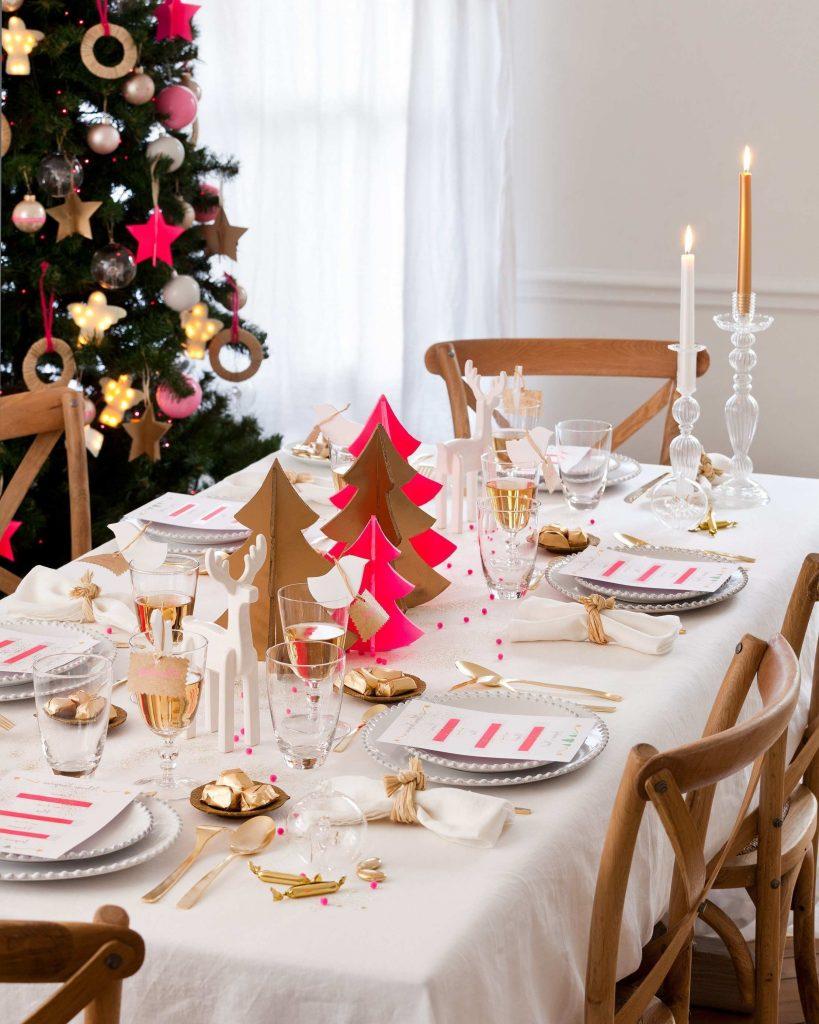 Сервировка стола в новогоднем стиле