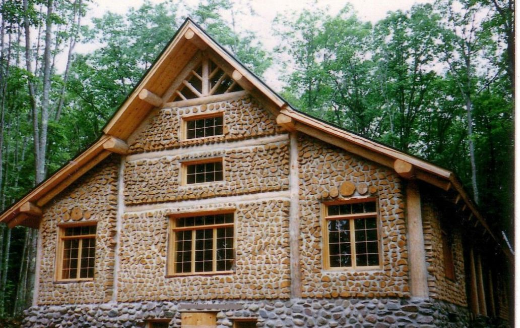 Сооружение размером 6 х 9 из глиночурок