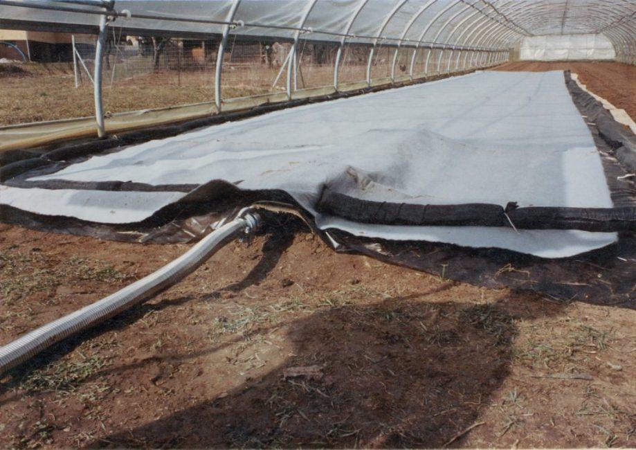 Подготовка почвы весной в теплице