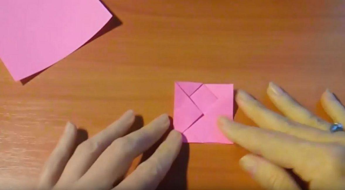 Данную операцию повторяем и с другим треугольником