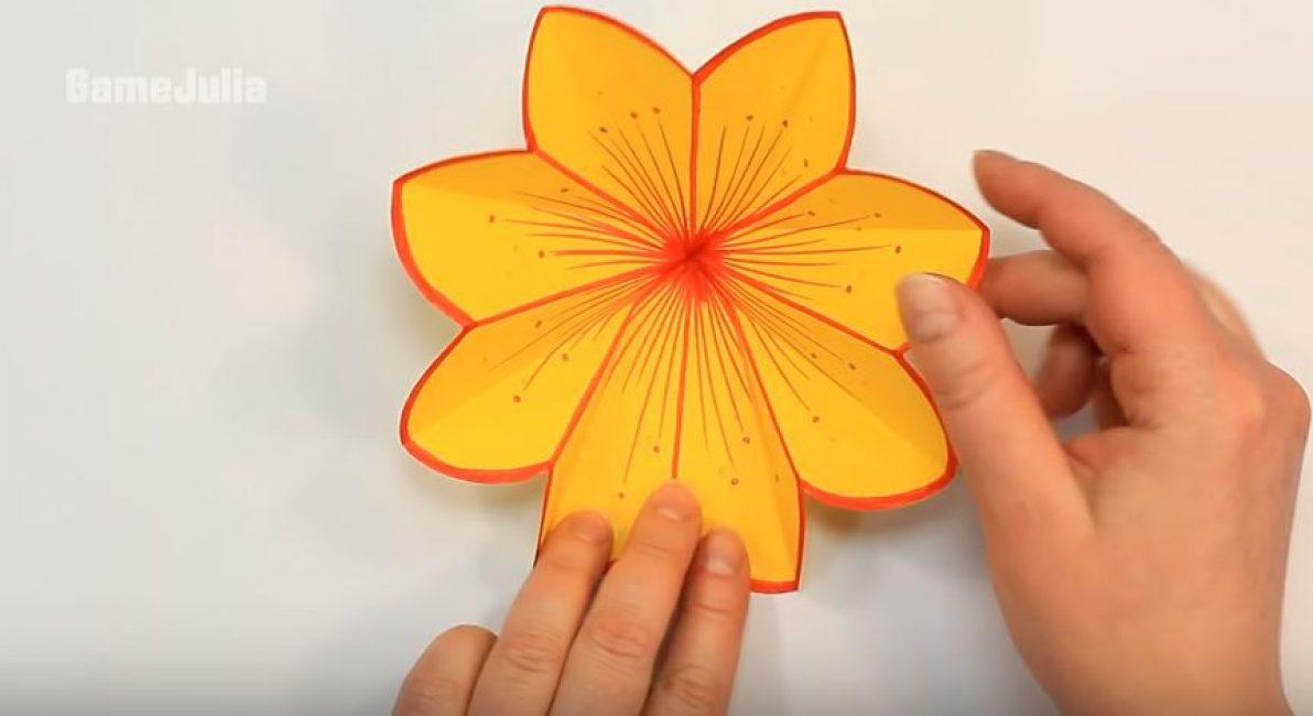 Раскрываем цветок