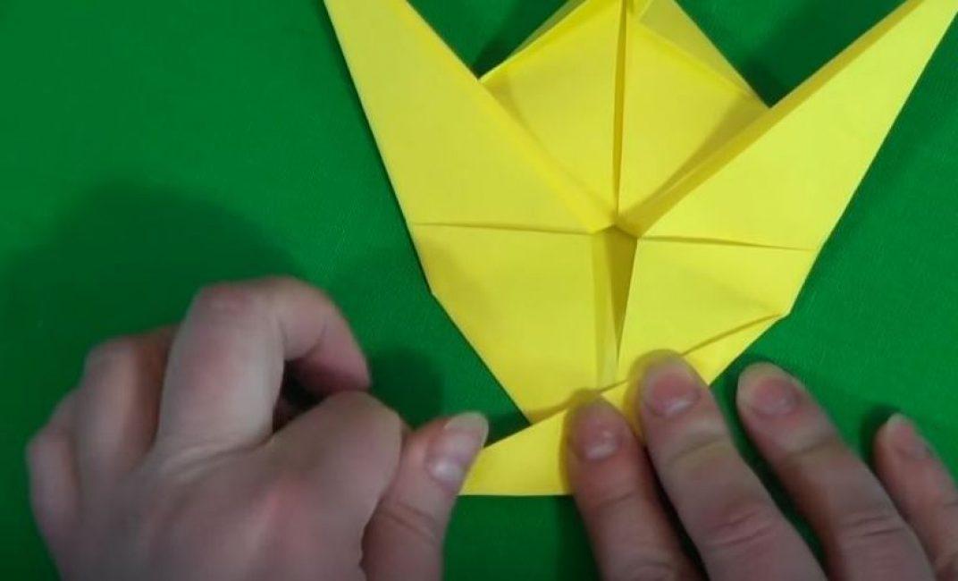 Откладываем треугольник