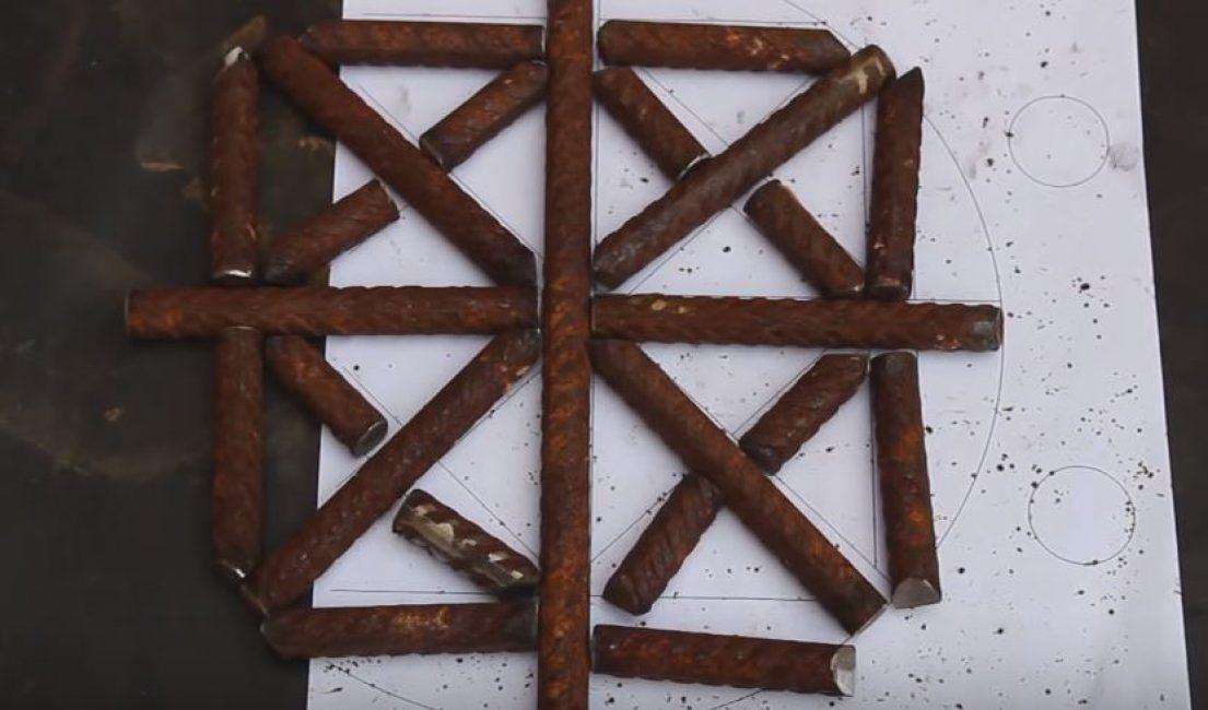 Схема решетки