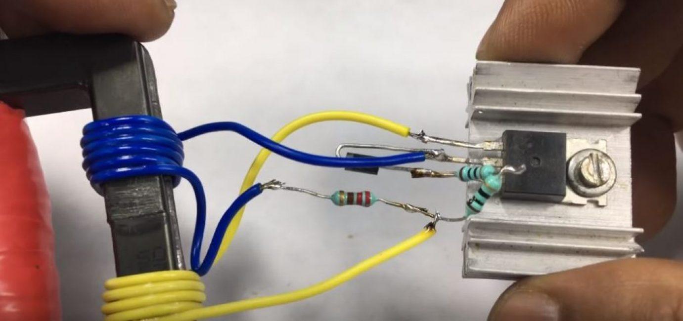 Припаиваем провода