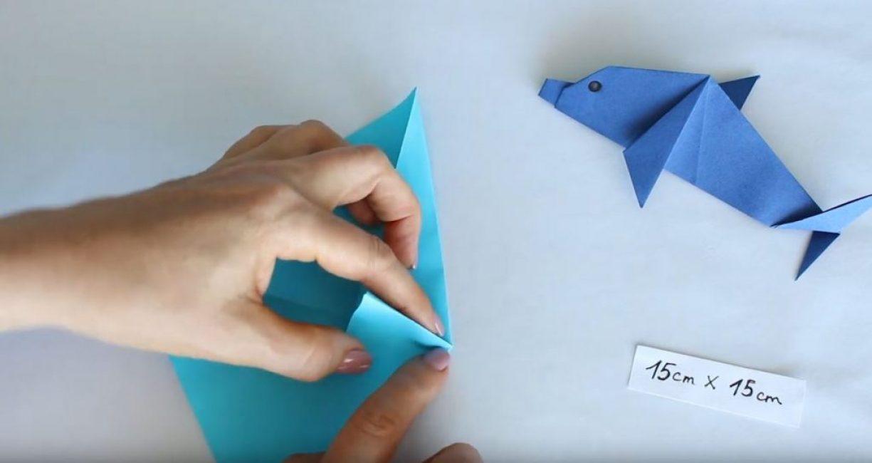 создаем треугольник