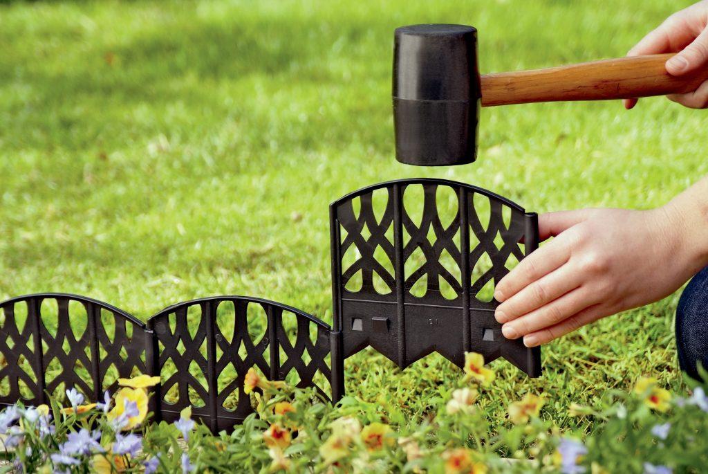 Ограждение для клумбы | ТОП-17 Идей для создания и обустройства заборчиков своими руками (80+ Фото & Видео) +Отзывы