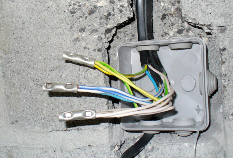 Опрессованные провода