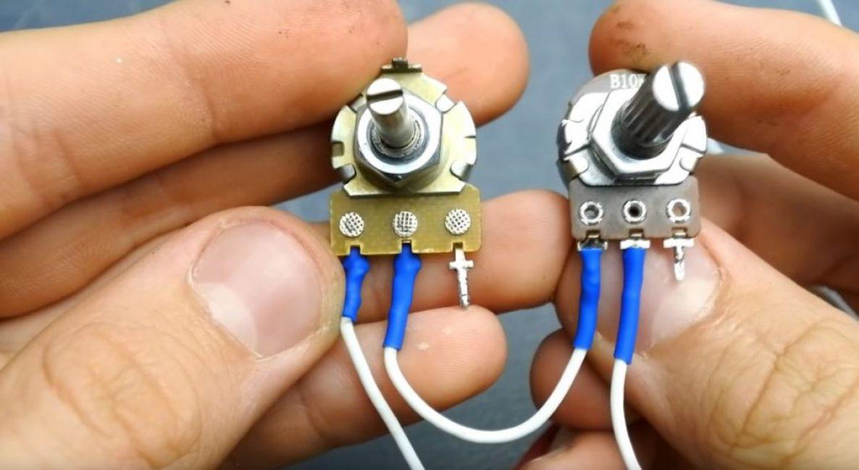 К третьей паре проводов подсоединяем резисторы