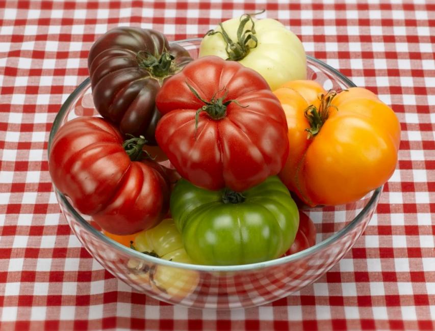 Цвет зрелого помидора у большинства людей ассоциируются с красными плодами, но как многие говорят полезнее и вкуснее томаты другой окраски – розовые, черные и желтые.