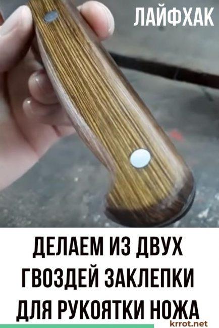 заклепка для ножа