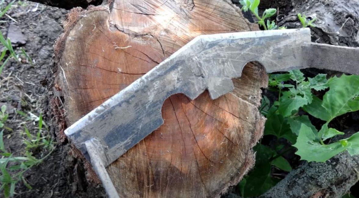 Затачиваем получившийся нож