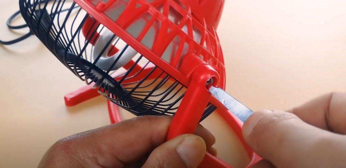 если отвертки нет под рукой, воспользуйтесь пилочкой для ногтей