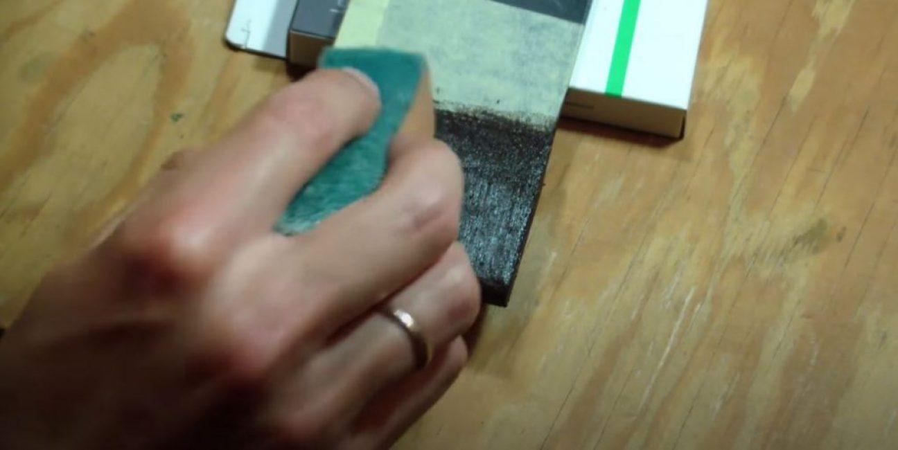 придаем силикону красивую матовую структуру