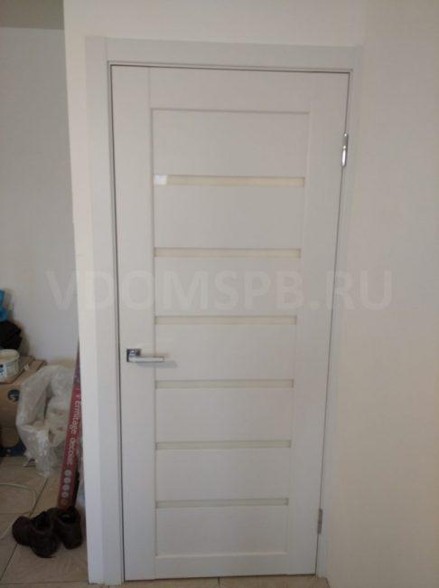 Рис7 Царговая дверь в ПВХ плёнке
