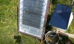 Солнечный коллектор для нагрева воды своими руками