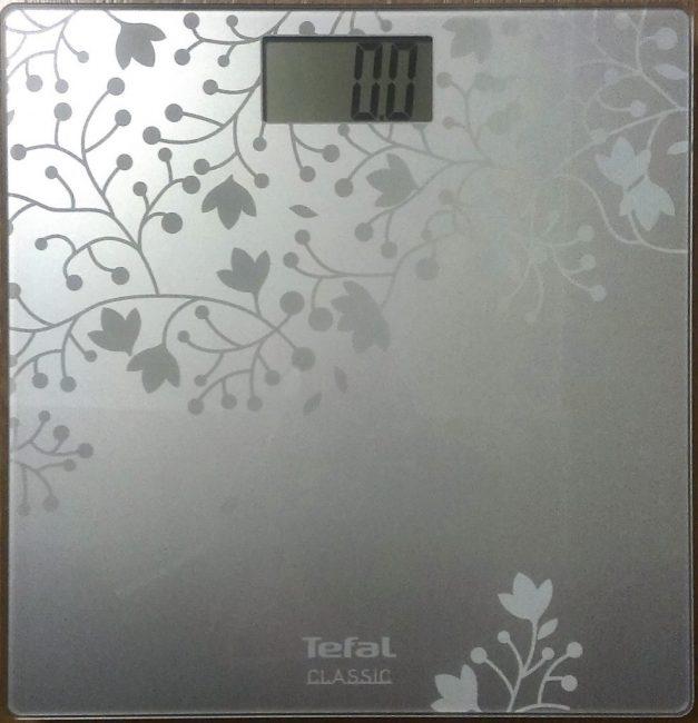 Недорогие весы от известного бренда Tefal PP1140 Classic Blossom Silver