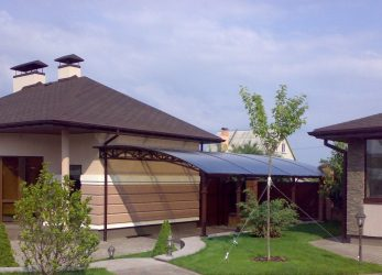 Навес, пристроенный к дому: какие бывают виды, выбор материалов и советы по монтажу (95 Фото & Видео) +Отзывы