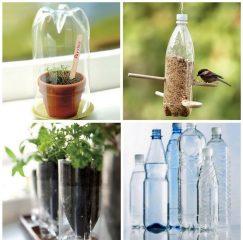 идеи поделок из пластиковых бутылок