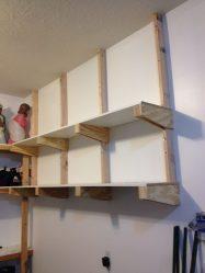 shelves for the garage DIY