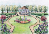 Красивый сад своими руками: лучшие идеи для дизайна сада в частном доме или на даче   (100+ Фото & Видео)