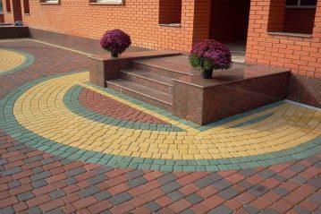Изготовление и укладка тротуарной плитки своими руками: пошаговая инструкция, на сухую и мокрую смесь. Изготовление формы, вибростола (Фото & Видео) +Отзывы