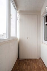 Шкаф на балконе: какие бывают виды, устройство, инструкция как сделать своими руками (100+ Фото & Видео) +Отзывы