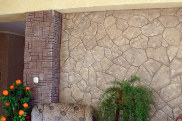 Отделка прихожей декоративным камнем: виды отделочного камня, обустройство своими руками (100+ Фото & Видео)