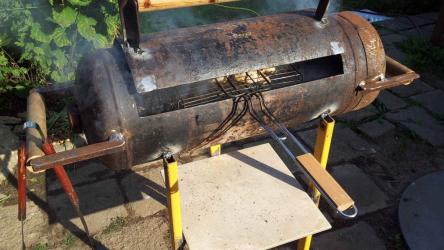 Мангал из газового баллона: пошаговая инструкция для изготовления своими руками | (50+ Фото & Видео)