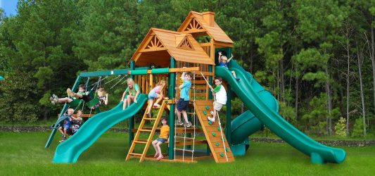 Детская площадка на даче своими руками: игровая, спортивная (100 Фото & Видео) +Отзывы