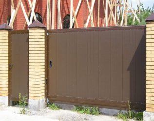 Откатные ворота: изготовление практичной конструкции своими руками. Схемы, чертежи и эскизы (100+ Фото & Видео) +Отзывы